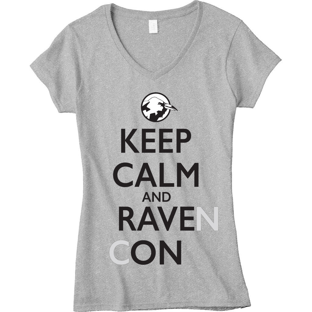 Keep Calm and Rave On T-Shirt (Women's) 00015