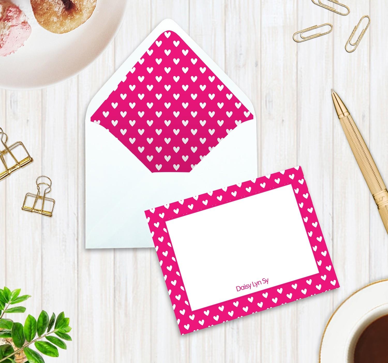 Flat Notecard with Envelope Liner