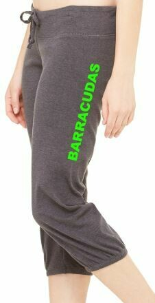 BARRACUDAS WOMEN'S CAPRI SCRUNCH PANT