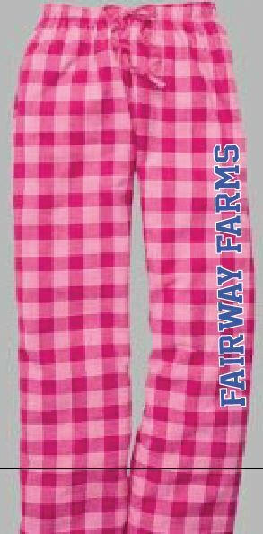 Fairway Farms Flannel Pant Pink