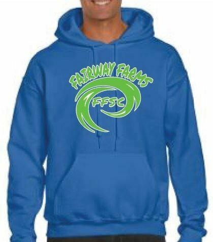 Fairway Farms logo Fleece Hoodie