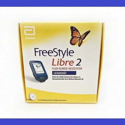 FreeStyle Libre 2 поколение Ридер Ммоль С Сигналом Тревоги