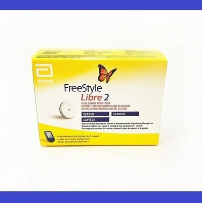 FreeStyle Libre 2 поколение Сенсор С Сигналом Тревоги срок 07.2020