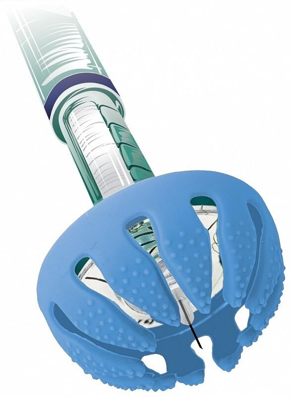 DiaSpider - помощник для безболезненного введения инсулина. Голубой