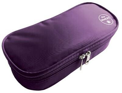 Термо-кейс с холодными пакетами. Фиолетовый