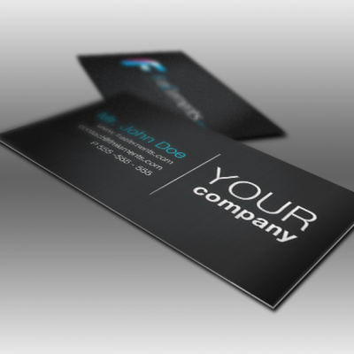 Glossy or Matte - Business Cards