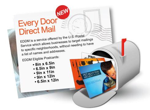 EDDM Postcards - 8 x 6.5 inches