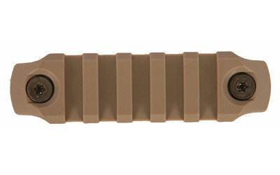 "(Accessories) Bravo Company, Keymod Rail, Fits AR Rifles, 3"", Picatinny, Flat Dark Earth Finish FDE"