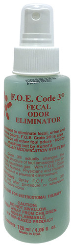 Ruhof F.O.E.® Floral Fecal Odour Eliminator - 125ml x 1