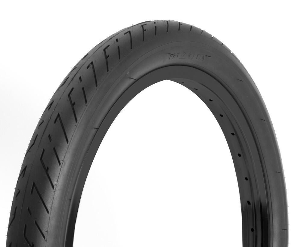 fit bike T/A black wall tyre