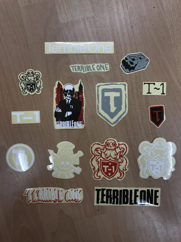 terrible one sticker packs