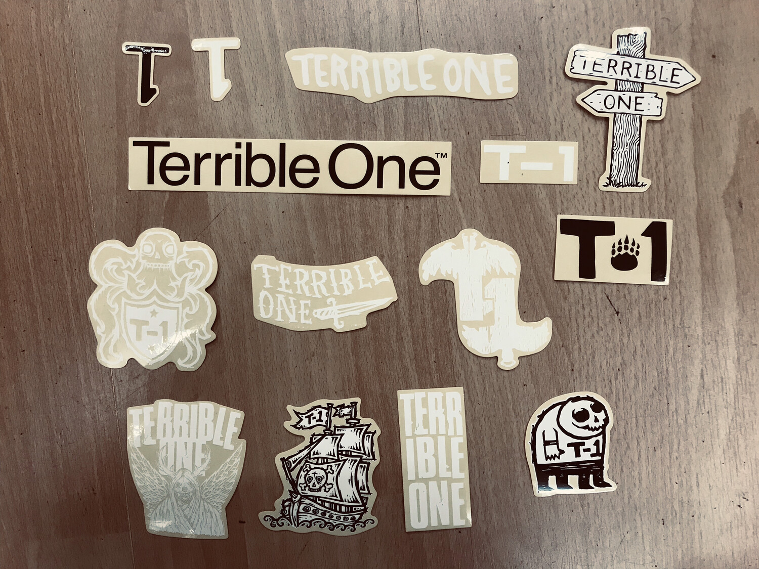 terrible one sticker packs