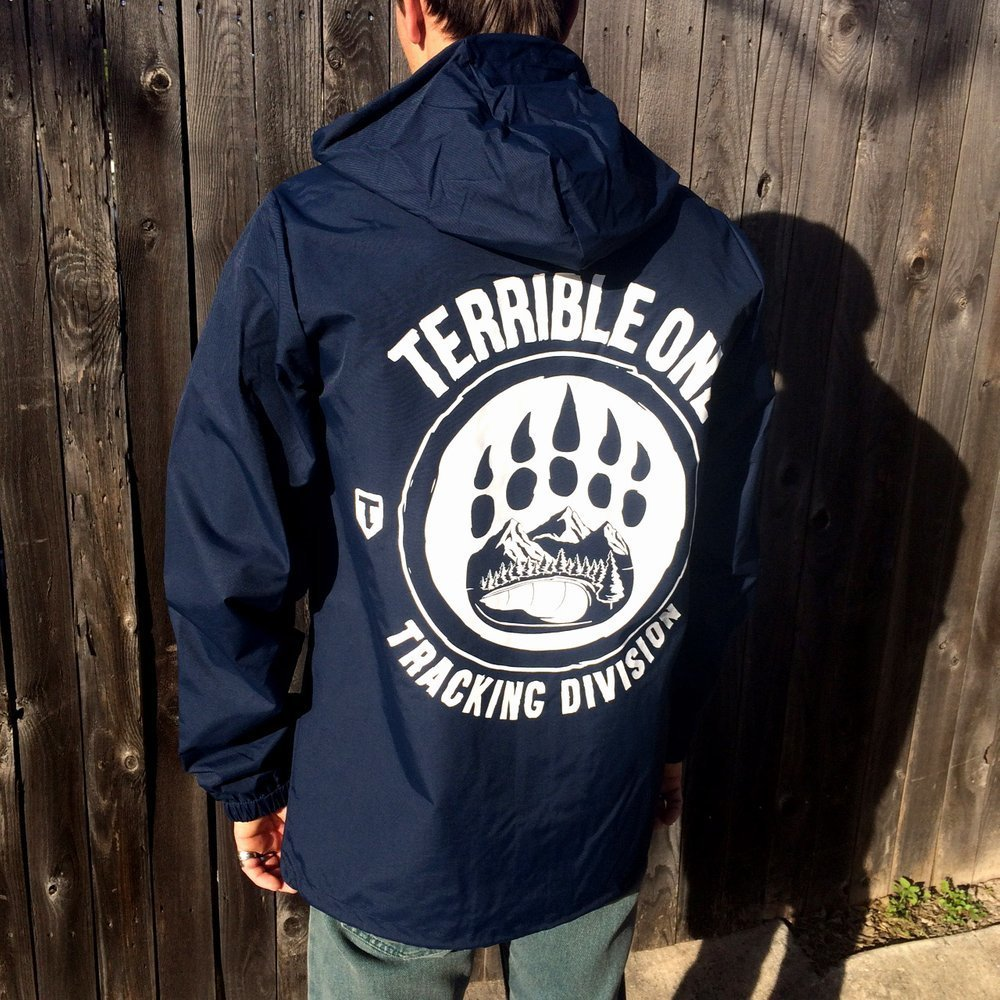 t1 tracking division windcheater jacket