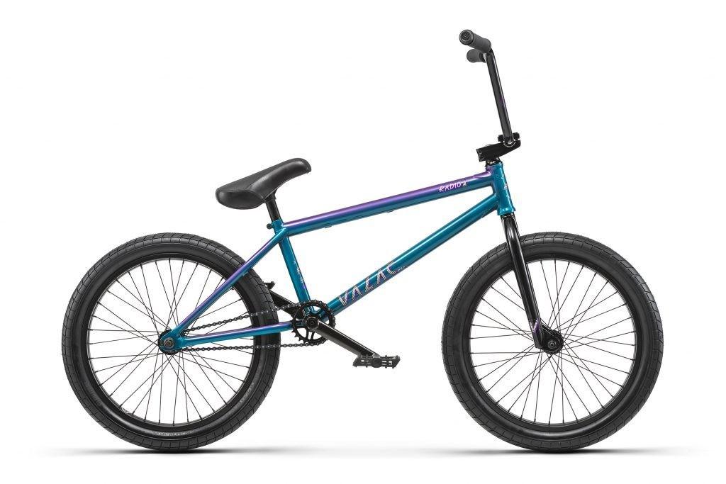 "radio bikes valac 20"" cyan / purple fade"
