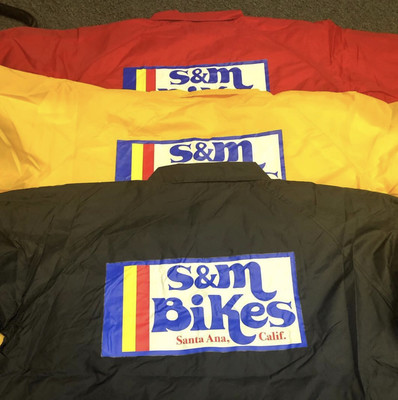 S&m bikes gold medal coach jacket