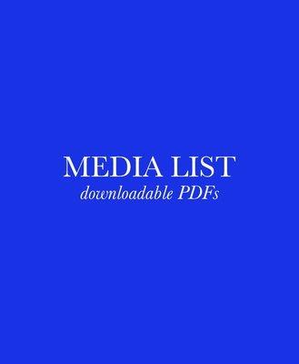 Black Interest Radio Media List