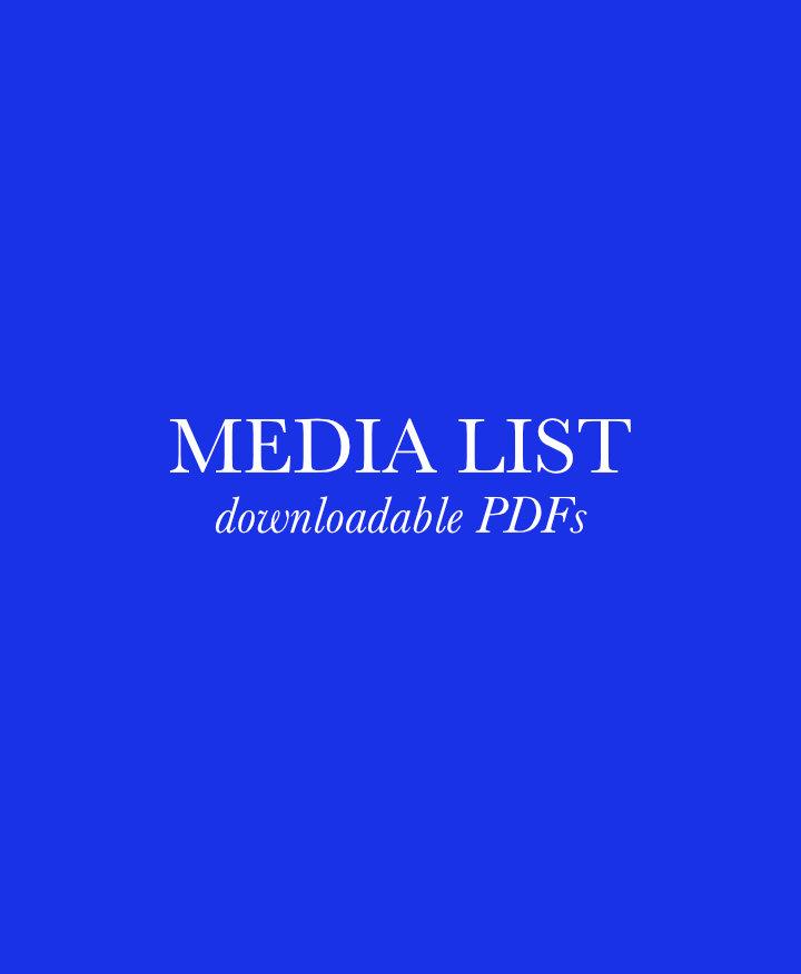 Music Magazine Media List 00005
