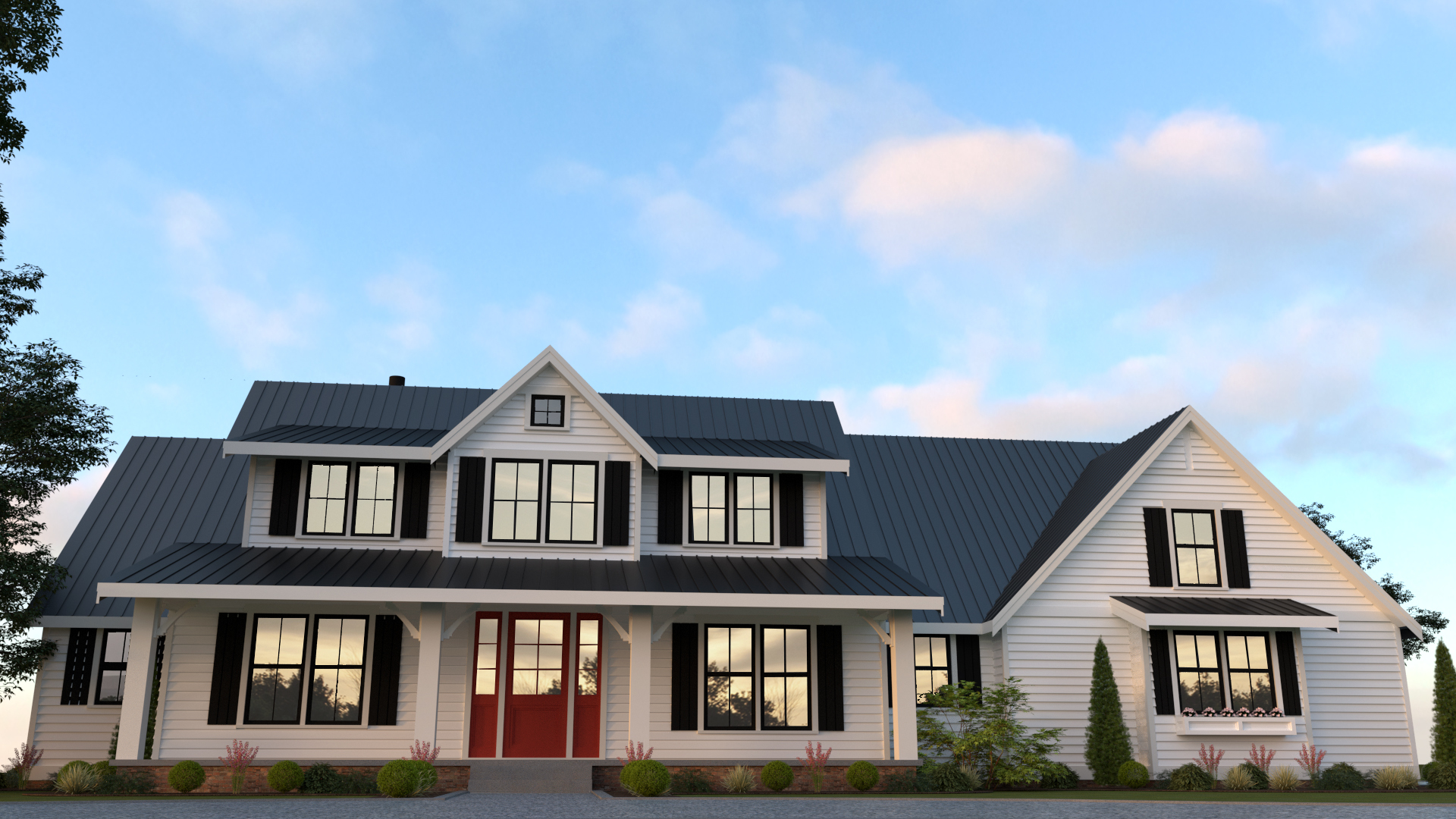 Contemporary Farmhouse 813 813