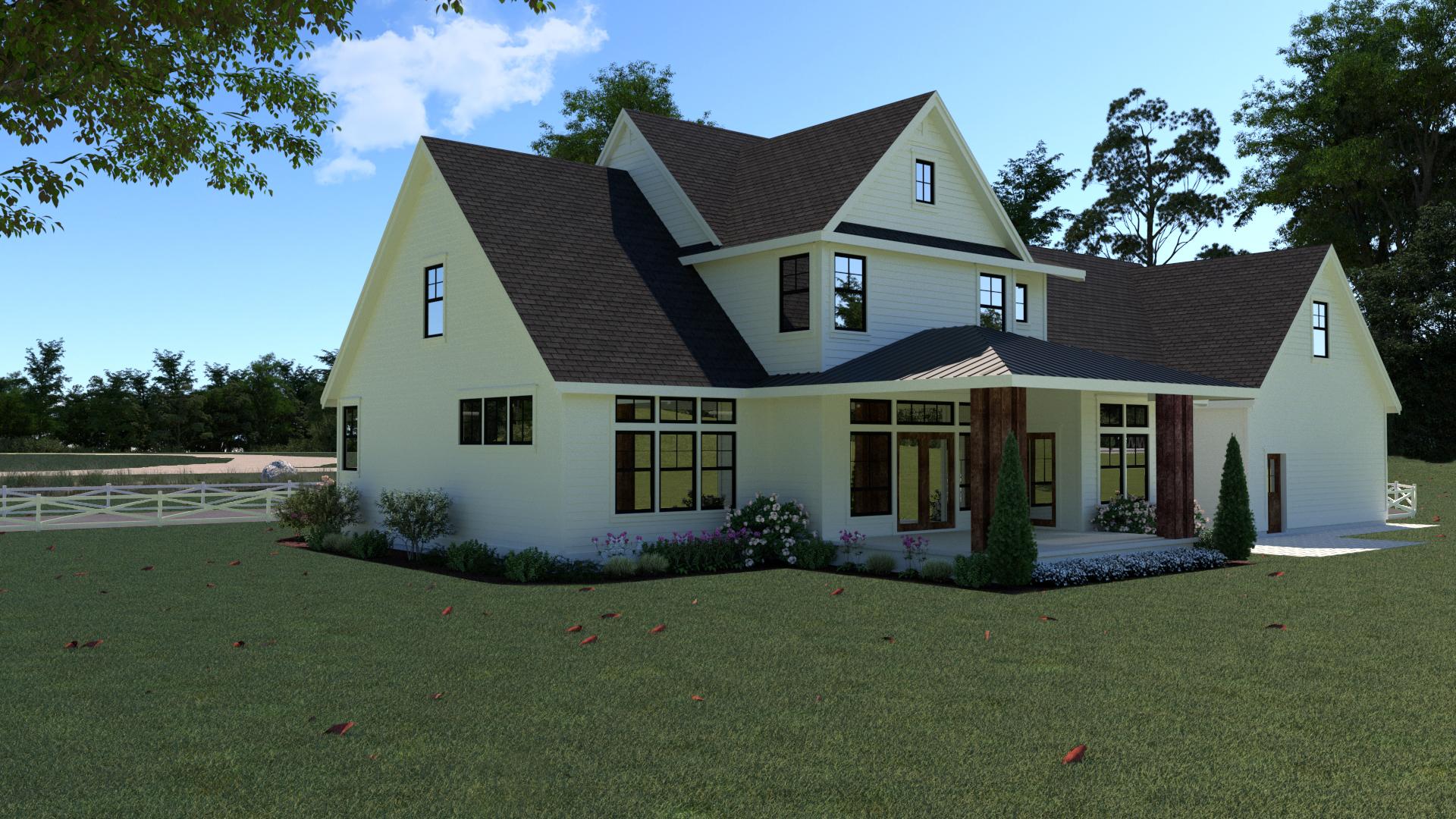 Contemporary Farmhouse 807
