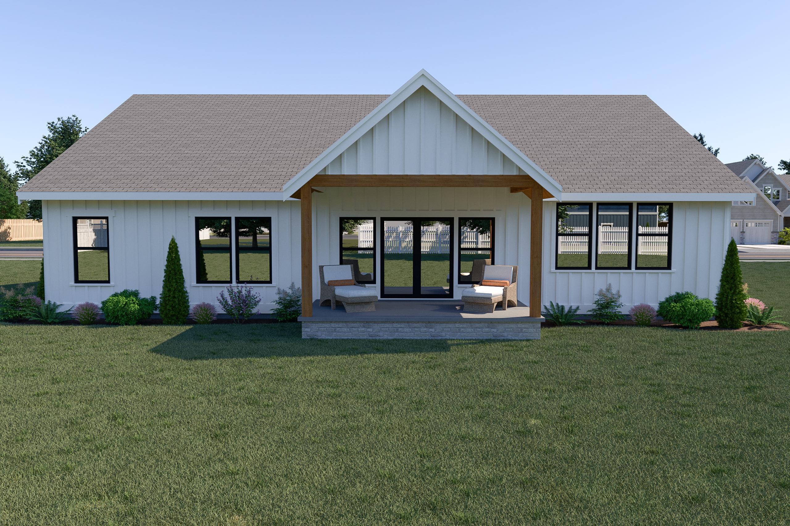 Contemporary Farmhouse 823