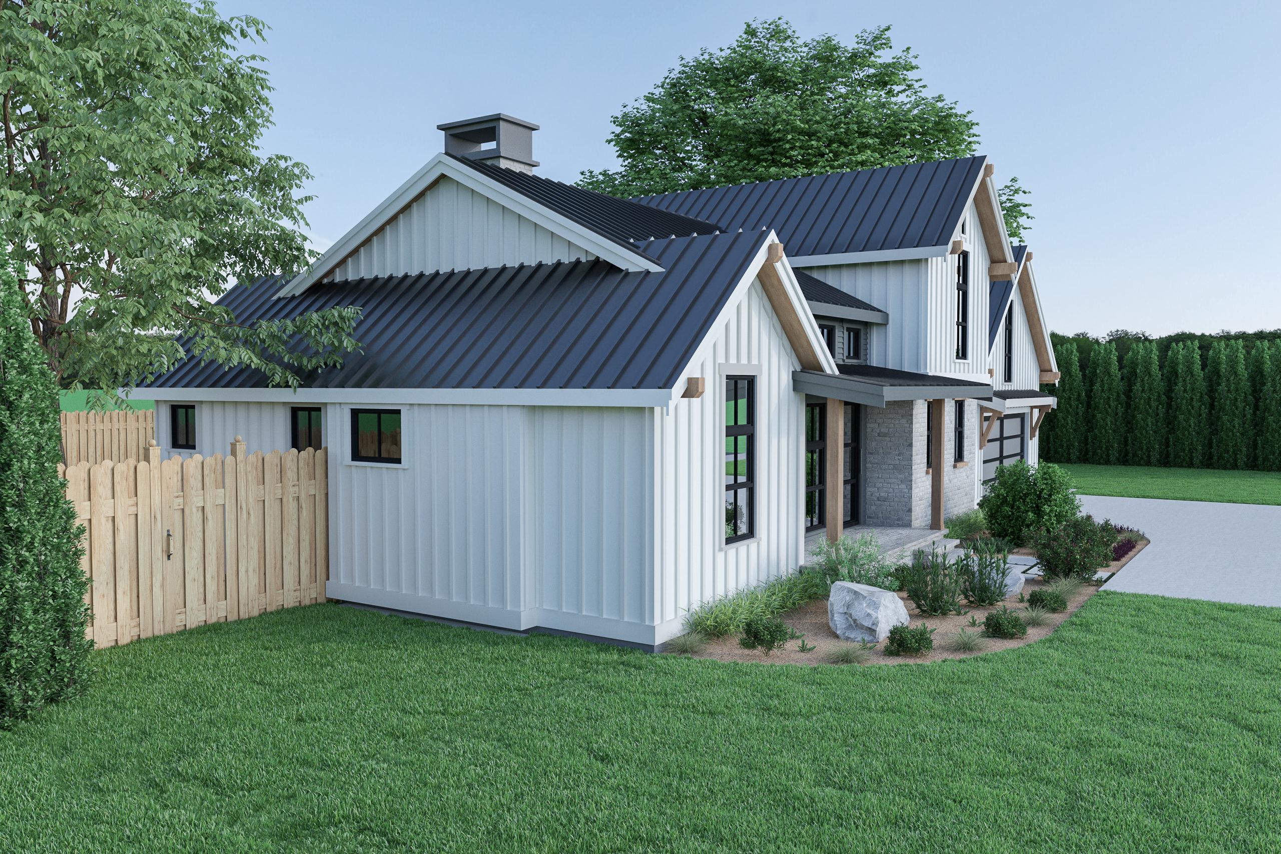 Contemporary Farmhouse 820