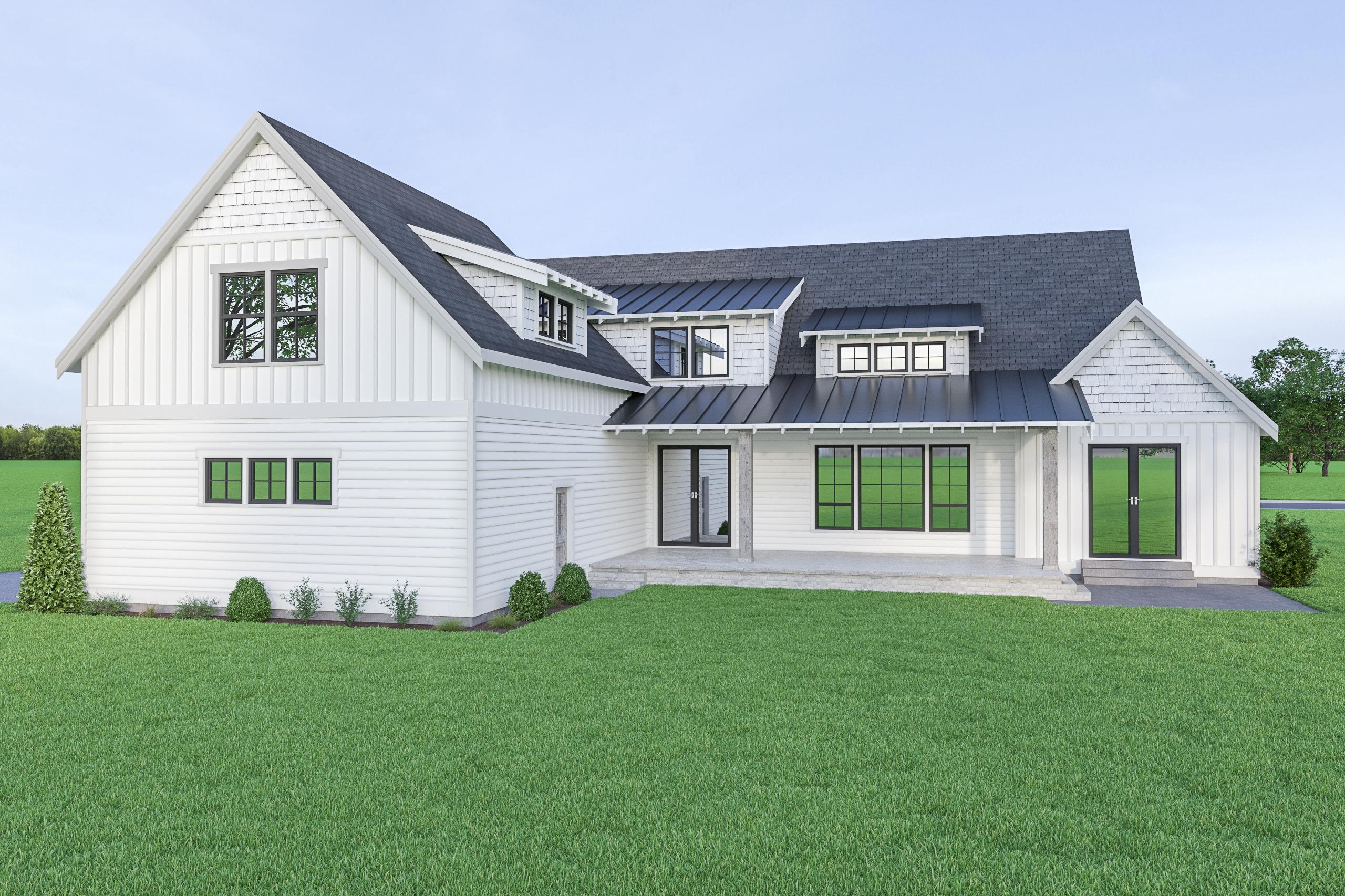 Contemporary Farmhouse 826