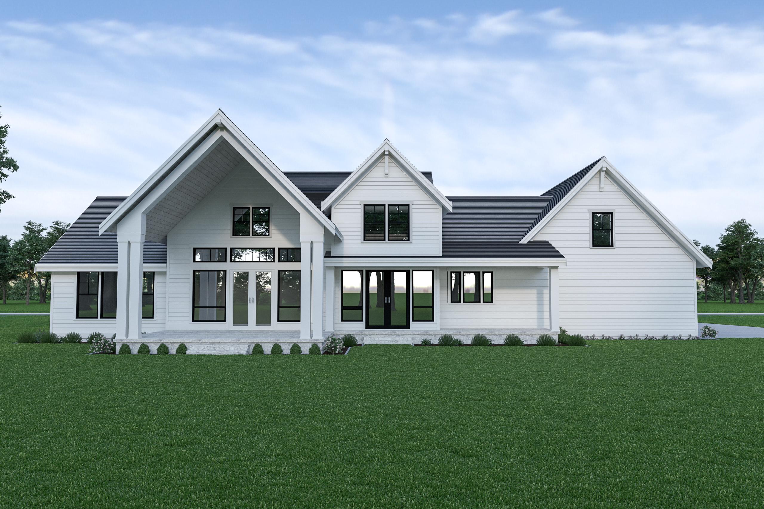 Contemporary Farmhouse 836