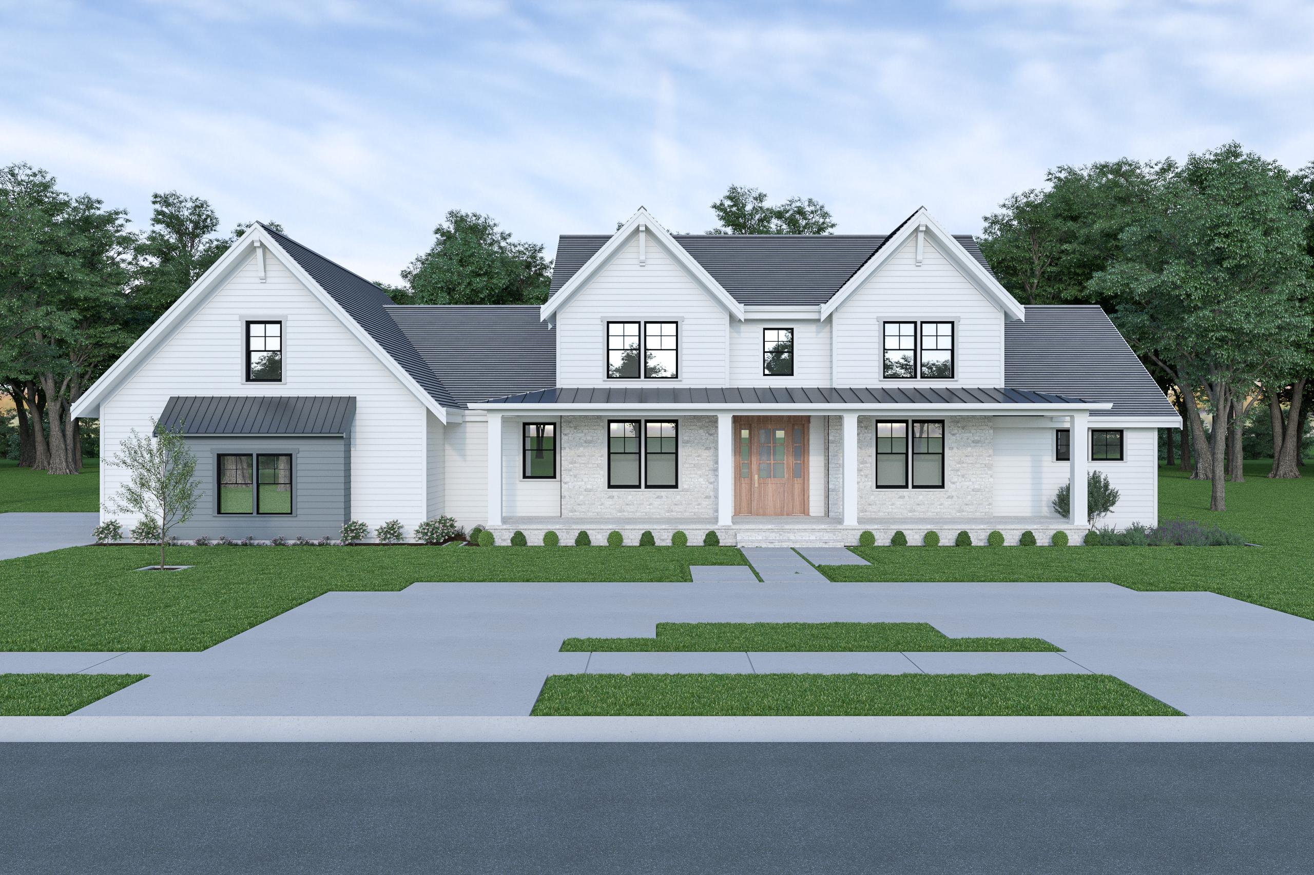Contemporary Farmhouse 836 836