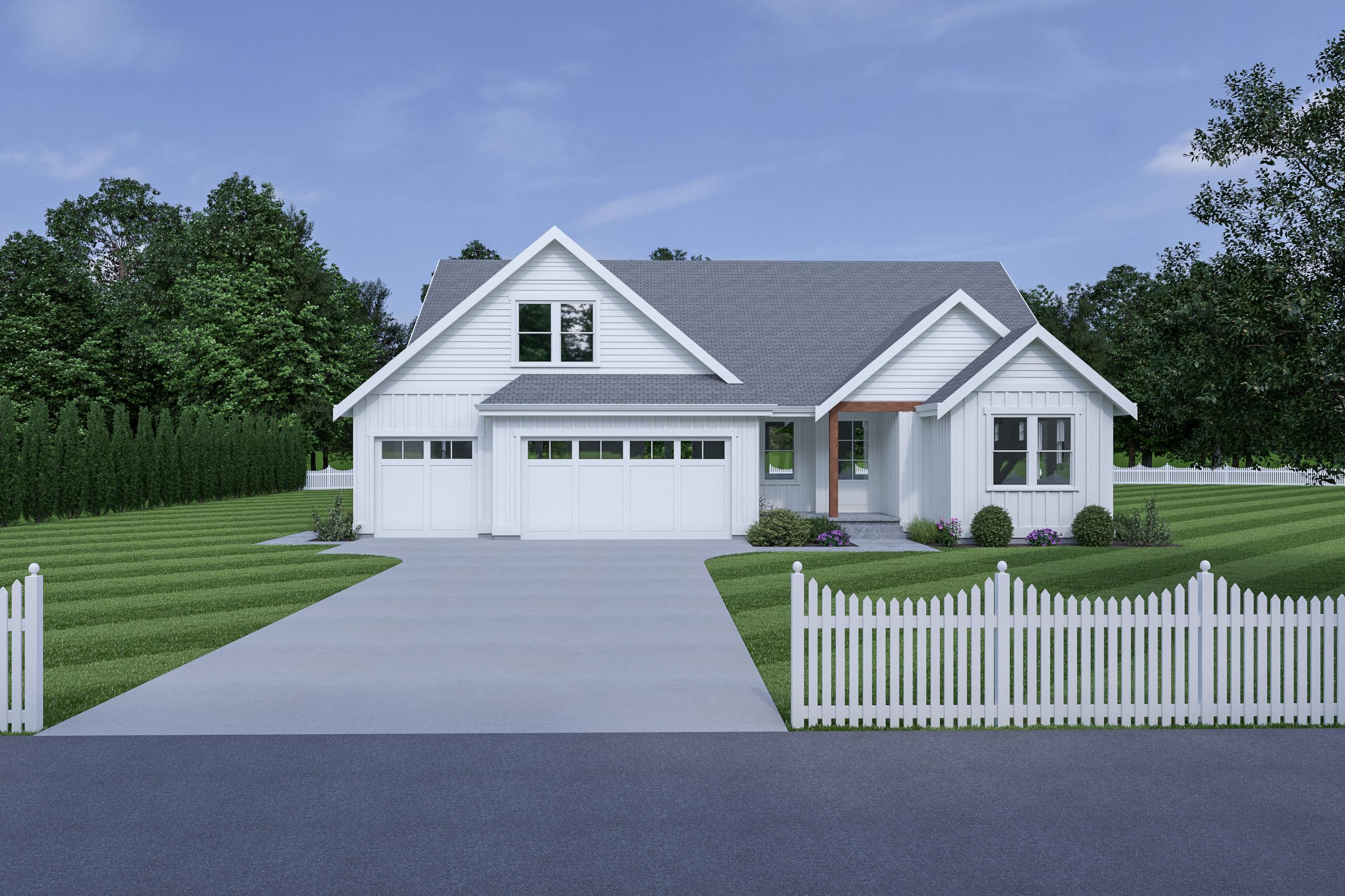 Contemporary Farmhouse 841 841