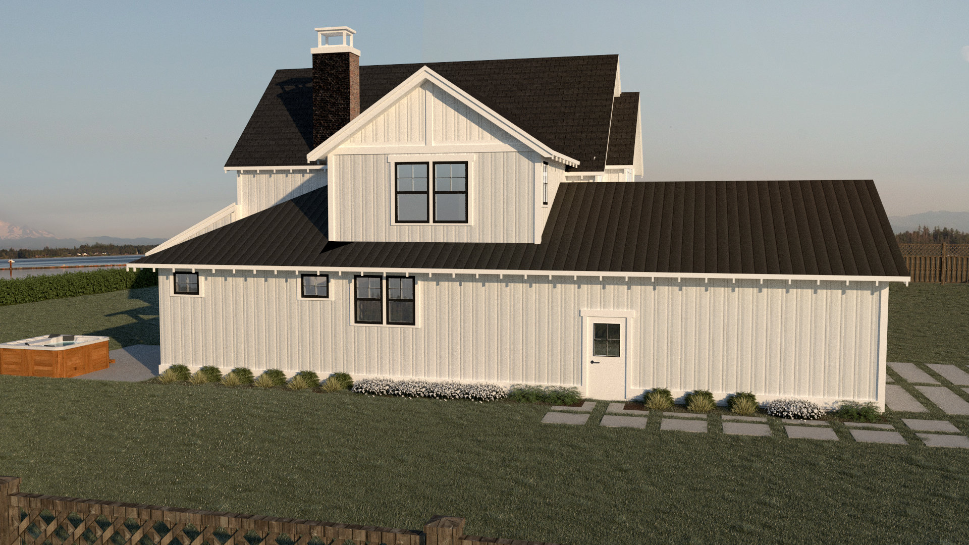 Contemporary Farmhouse 811