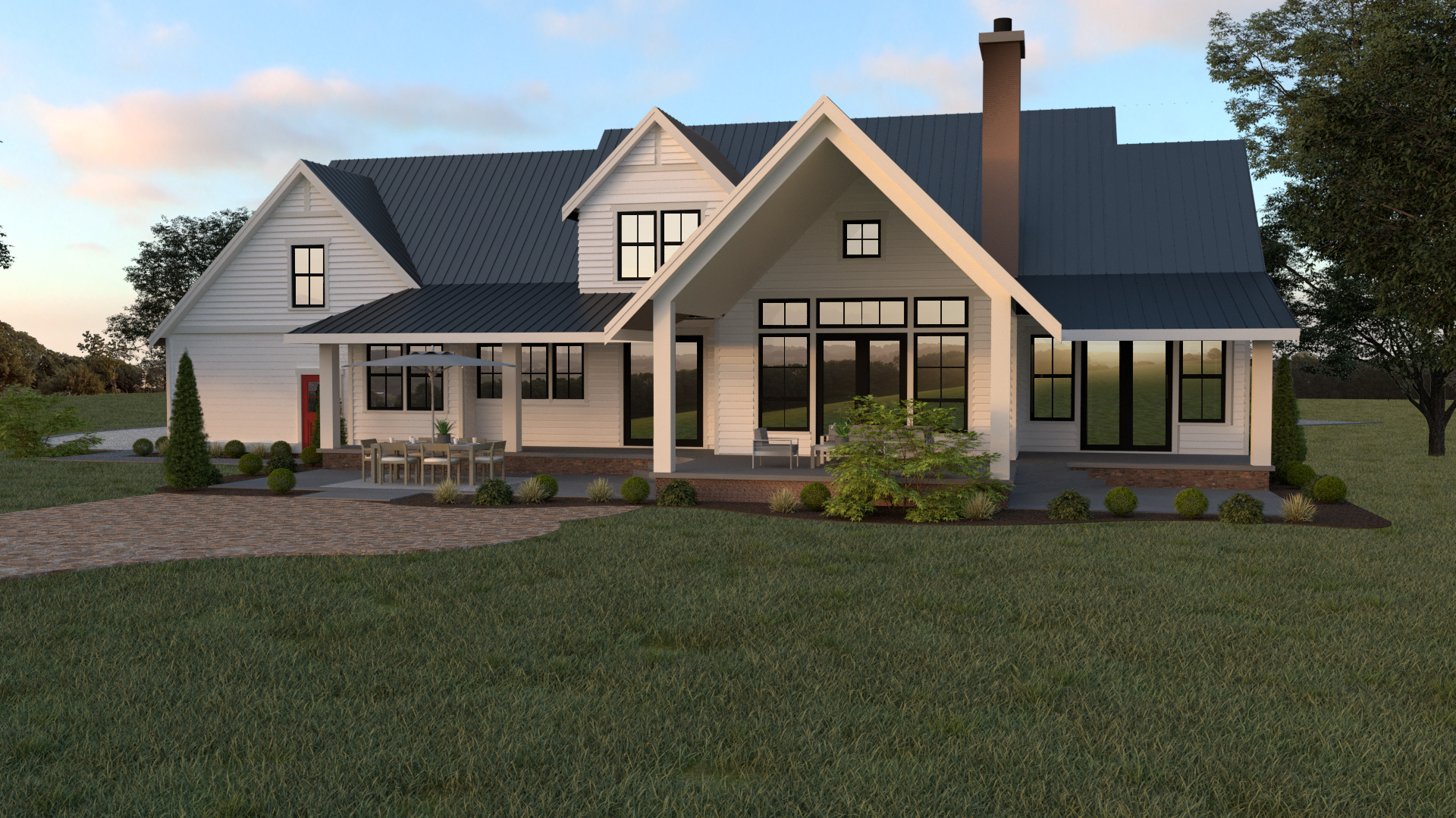 Contemporary Farmhouse 813