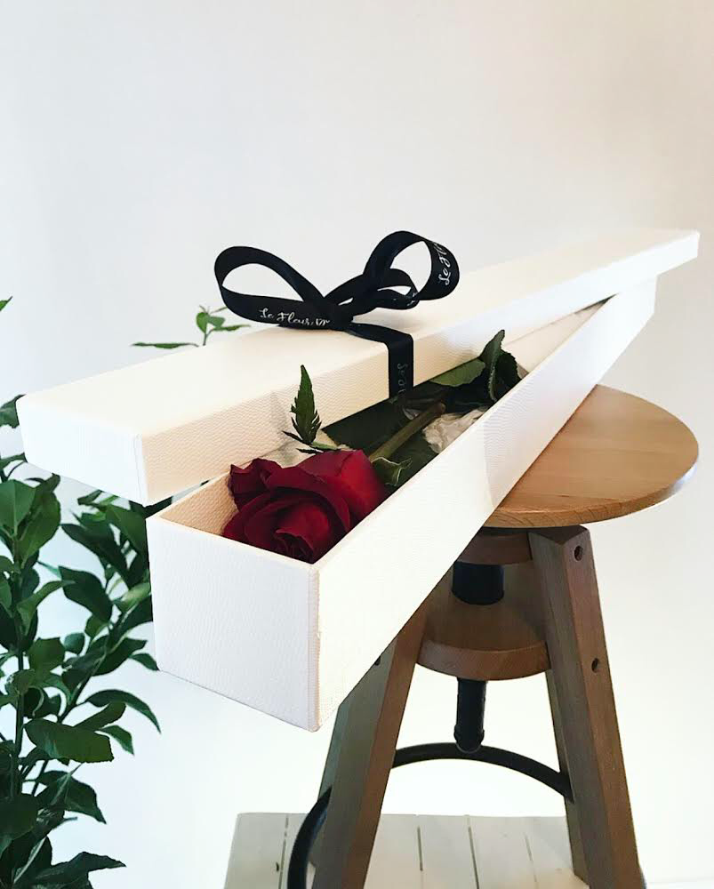 Red Rose in Box