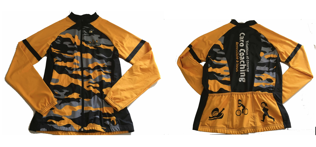 Manteau avec 3 poches arrières