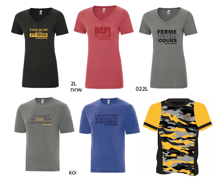 T-shirt décontracté et t-shirt technique T-SHIRT