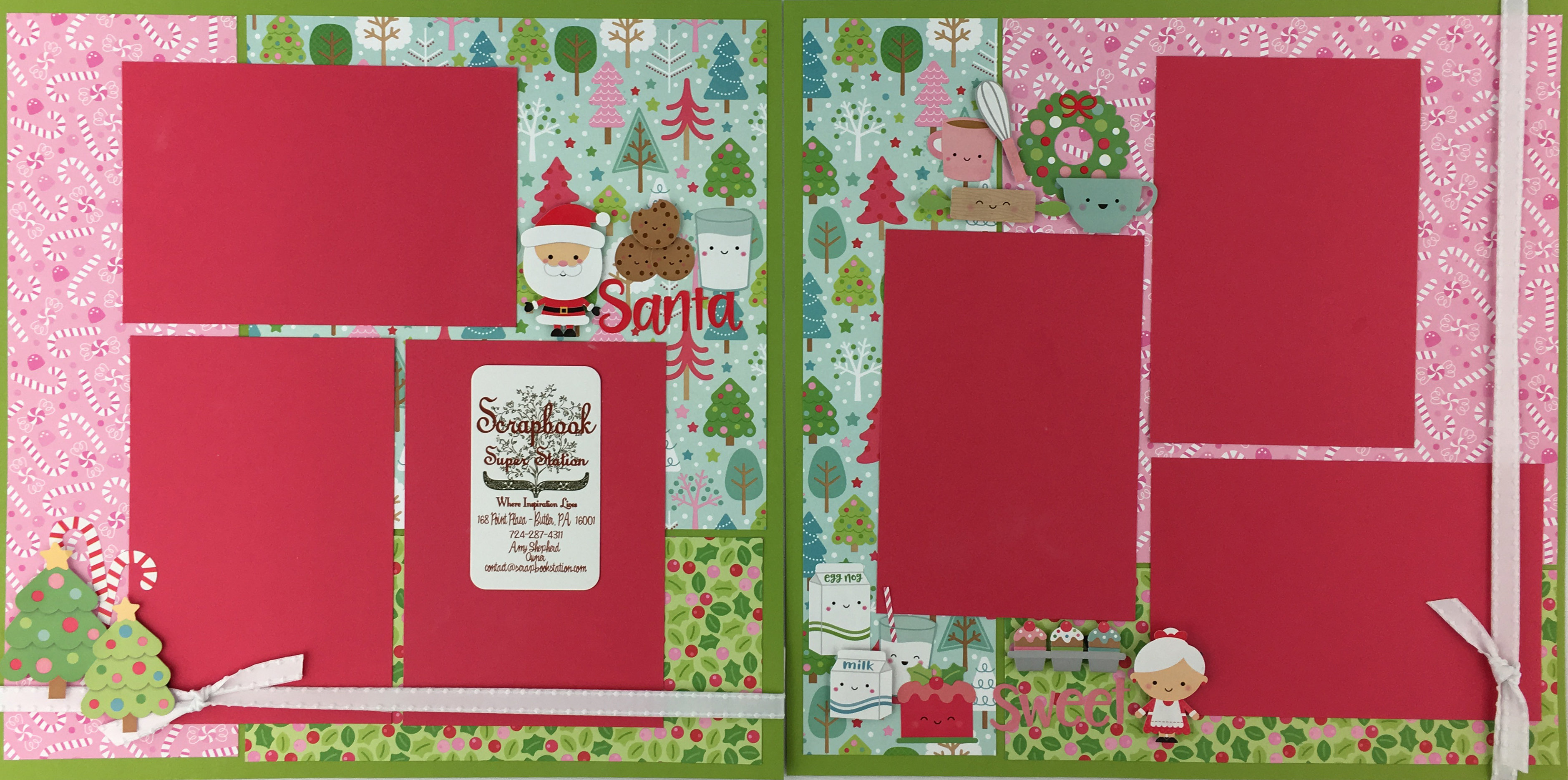 Doodlebug Milk And Cookies Page Kits Boutique