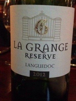 La Grange Réserve Coteaux de Languedoc