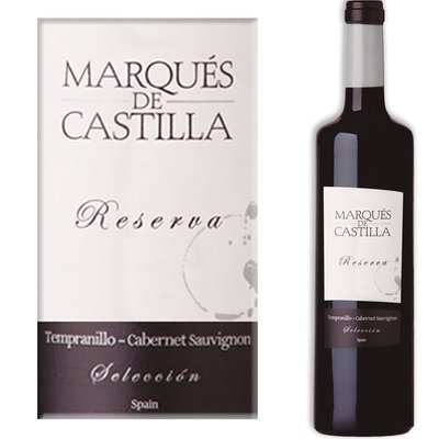 Marques  de Castilla Reserva Tempranillo Cabernet Sauvignon