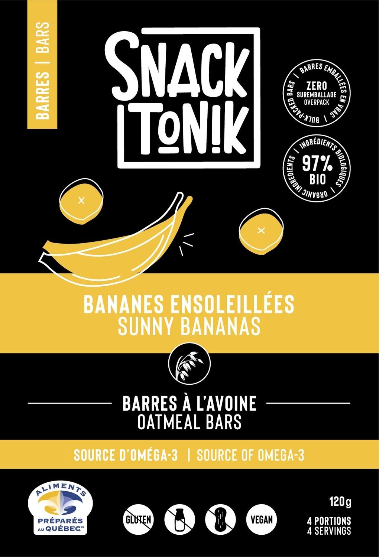 Barres Bananes ensoleillées - 120g