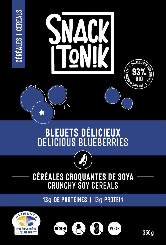 Céréales protéinées Bleuets délicieux 350g