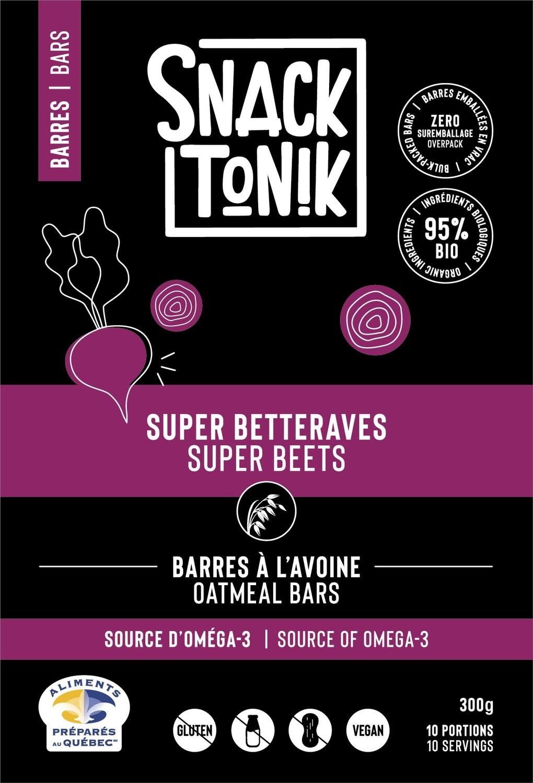 Barres Super betterave - 300g