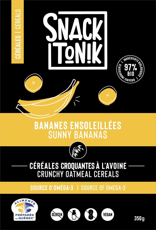Céréales avoine - Bananes ensoleillées - 350g
