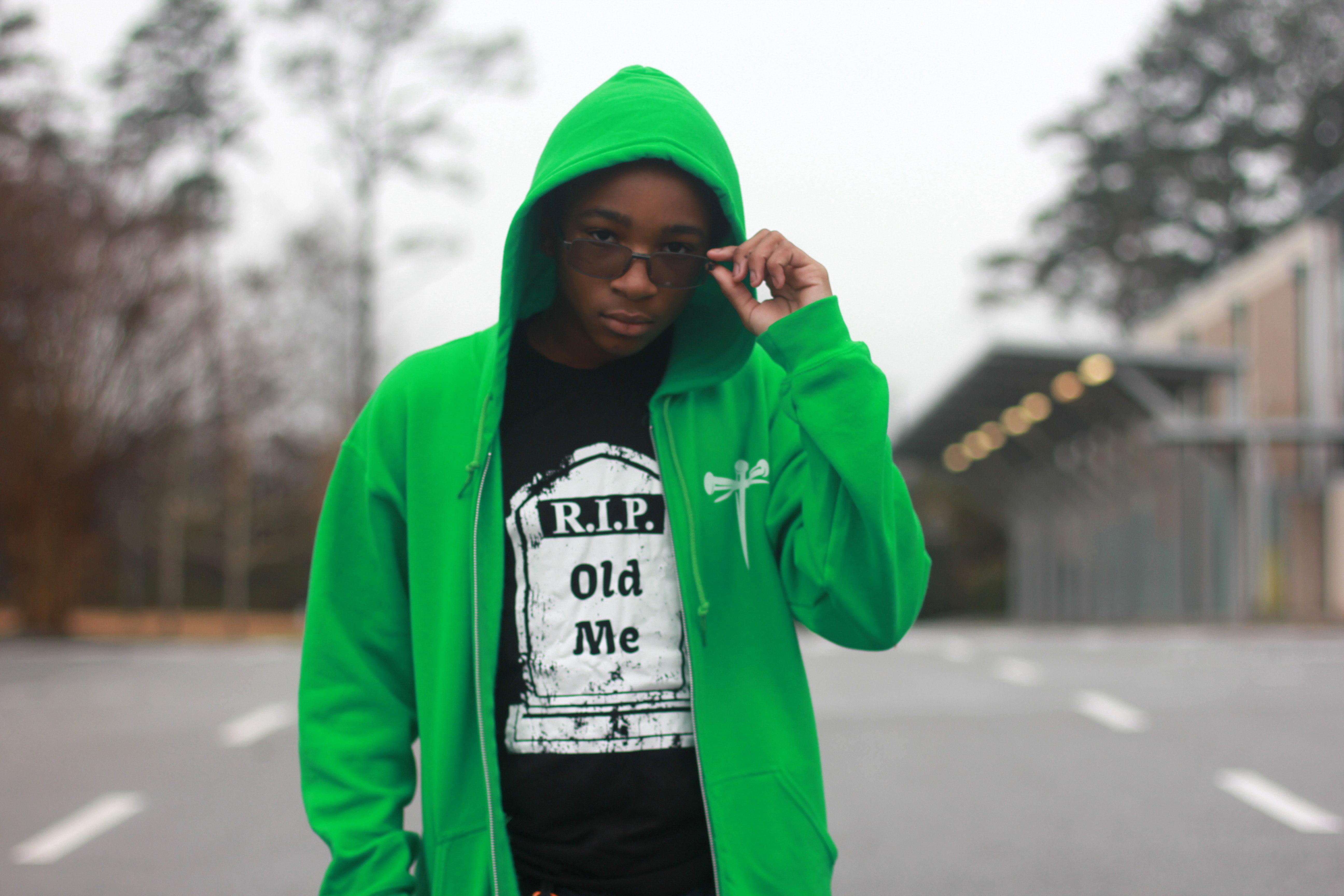 Sin is Wack Hoodie (Green) 00012