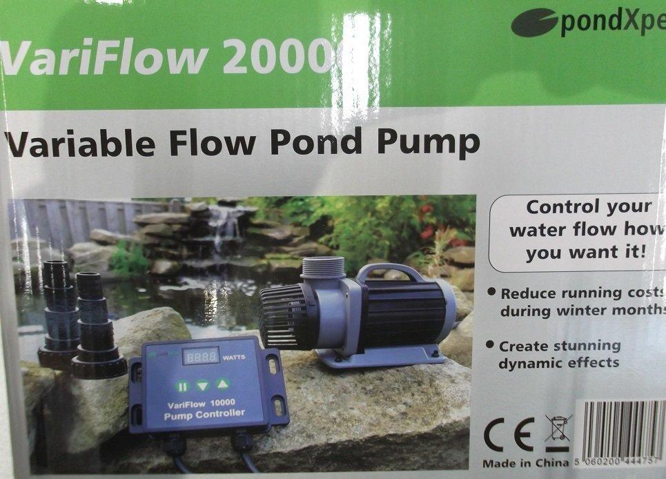 Pondxpert Variflow Pond Filter Pumps 10000