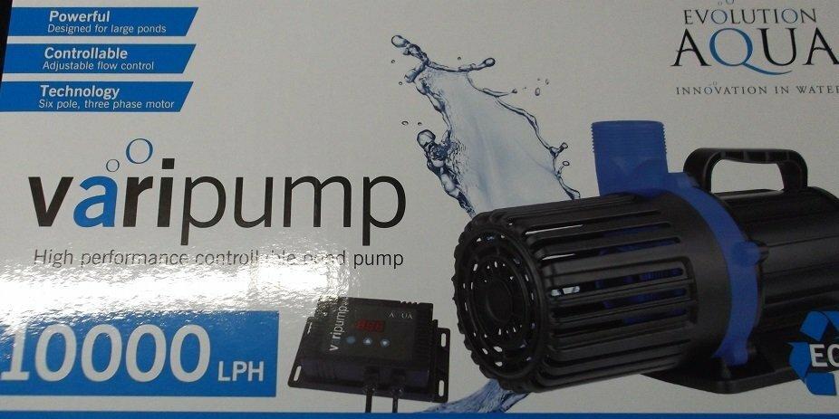 Evolution Aqua Varipump 30000 Pond Filter  Pumps