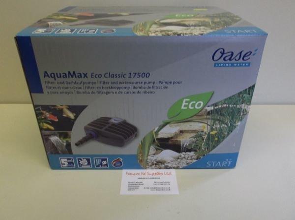 Oase Aquamax Eco Classic 17500 filter pump