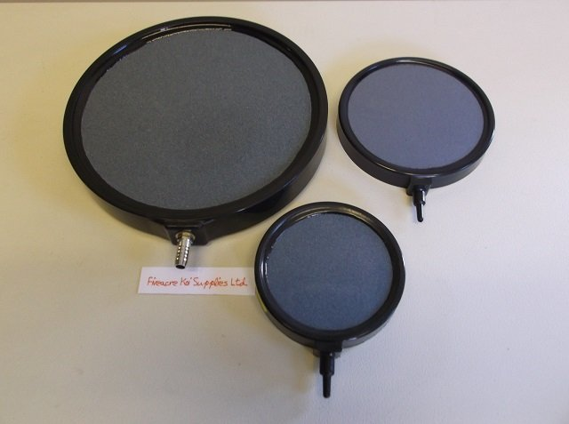 Flat round Ceramic air disc 100 mm