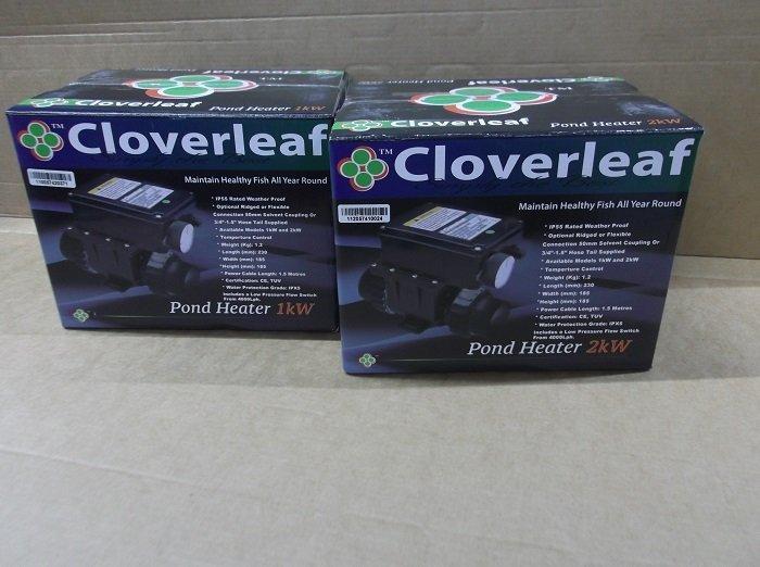 Cloverleaf electric pond heater  2 kilowatt