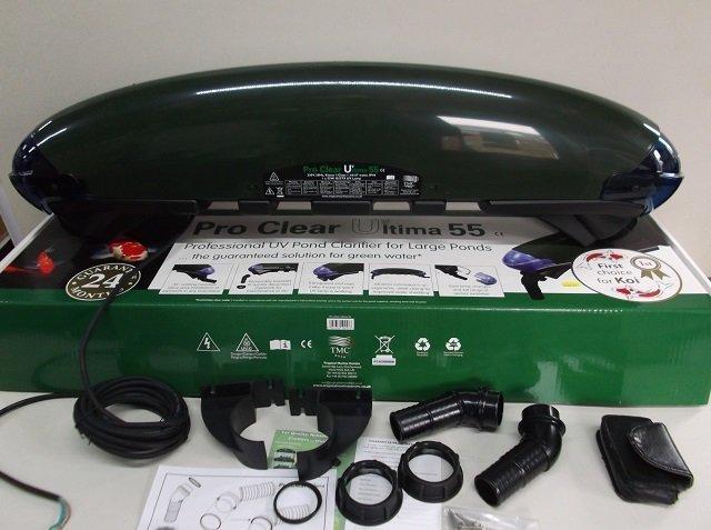 TMC ProClear Ultima 30 55 UV pond filter