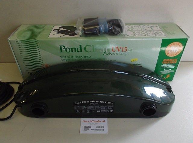 TMC Pond Clear UV 6 8 15 25 watt pond filter