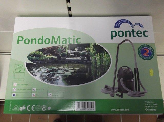 Pontec Pondomatic 3 Pond Vacuum